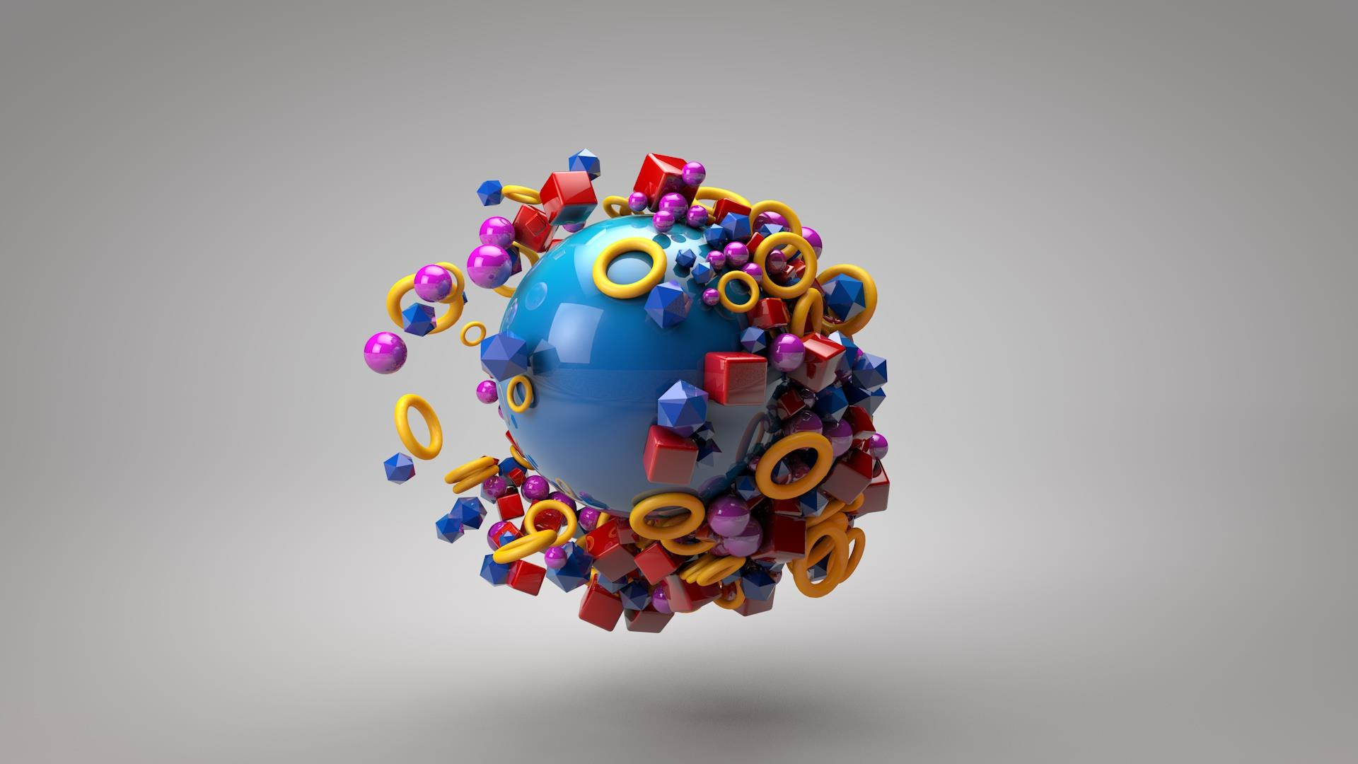 3D Rendering Motiongraphic
