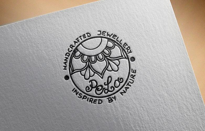 Logo Vektorisierung für Pela