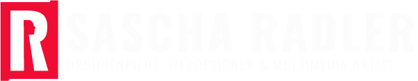 Sascha Radler Drohnenpilot, Webdesigner & Multimedia Artist