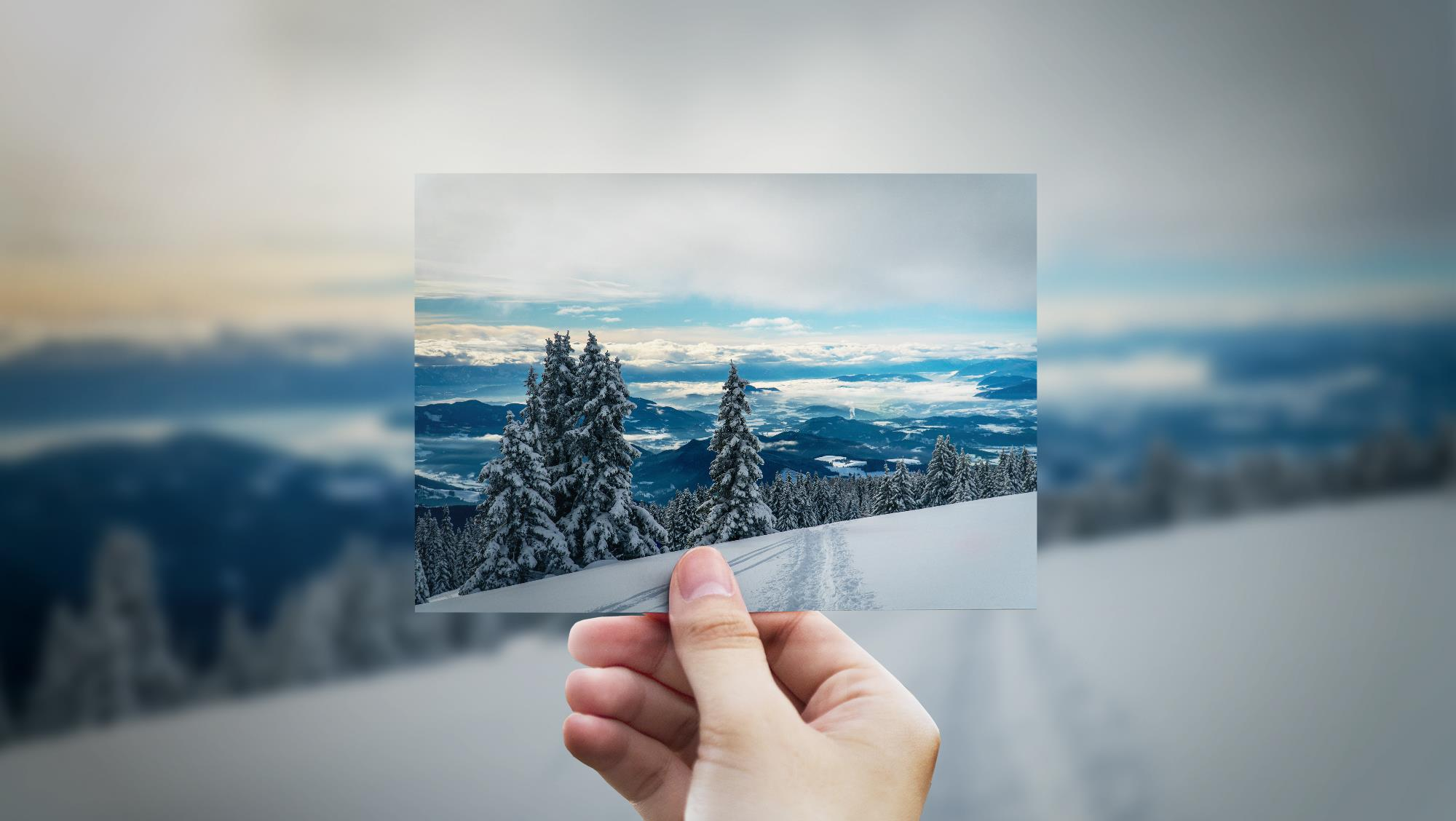 Die märchenhafte Saualpe bei Neuschnee