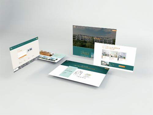 Immobilienswebseite für das Wohnprojekt Sophillia