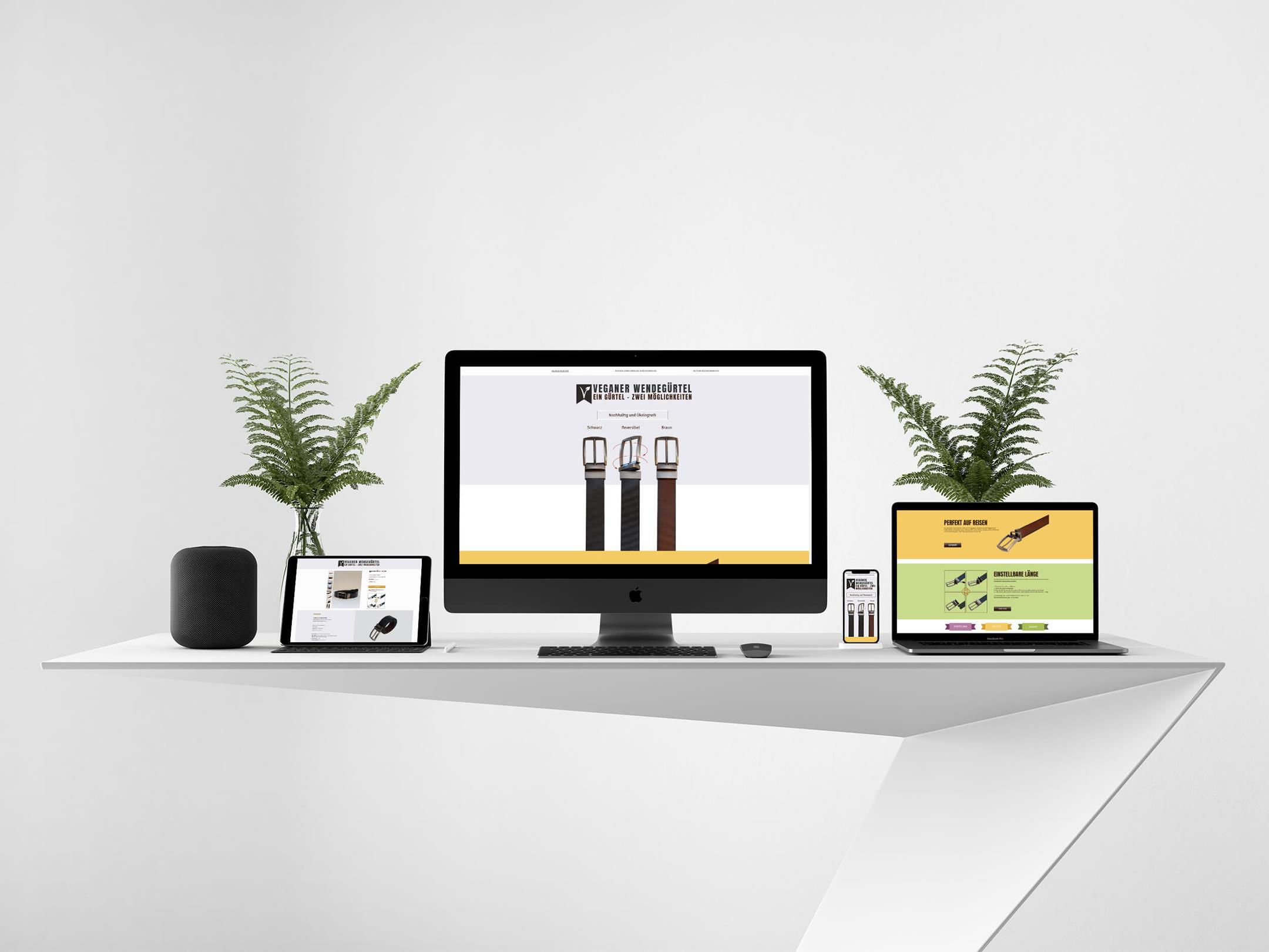 Online Shop für Vegane-Wendegürtel.de